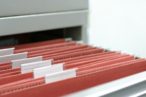 filing cabinet for Records Management Services